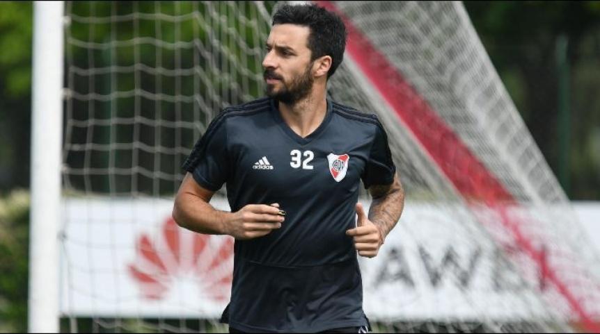 Ignacio Scocco comenzó a entrenar una semana antes que el plantel