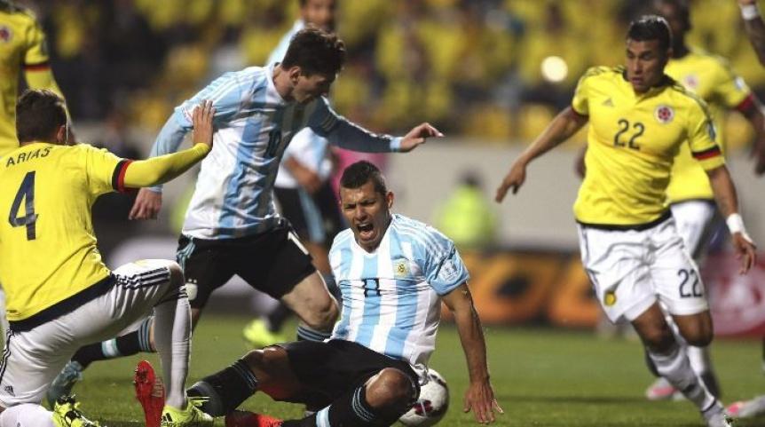 Argentina-Colombia se enfrentan por la primera jornada del Grupo B