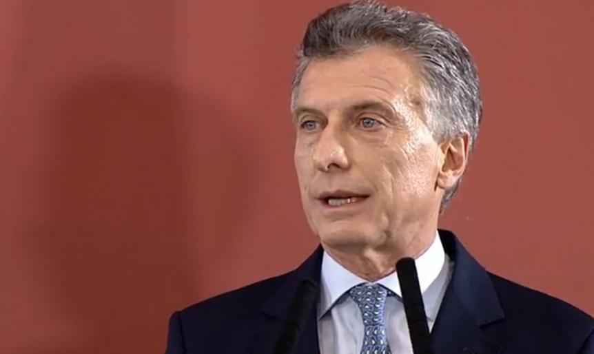Macri expreso su sorpresa por el apagón: