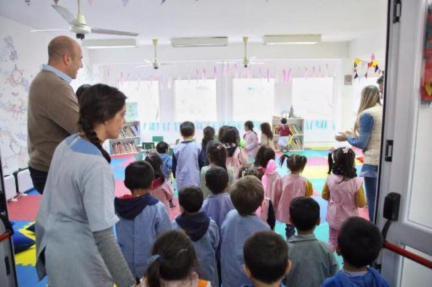 """Nueva sala de lectura infantil en la Biblioteca Pública Municipal """"Domingo Faustino Sarmiento"""" de Quilmes"""