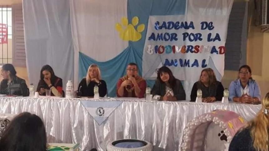 """La titular de """"Caballos de Quilmes""""  disertó en la provincia de Chaco"""