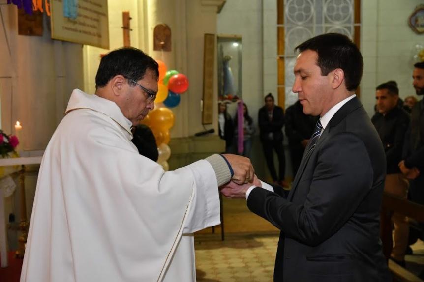Se celebró la misa en honor al patrono varelense San Juan Bautista