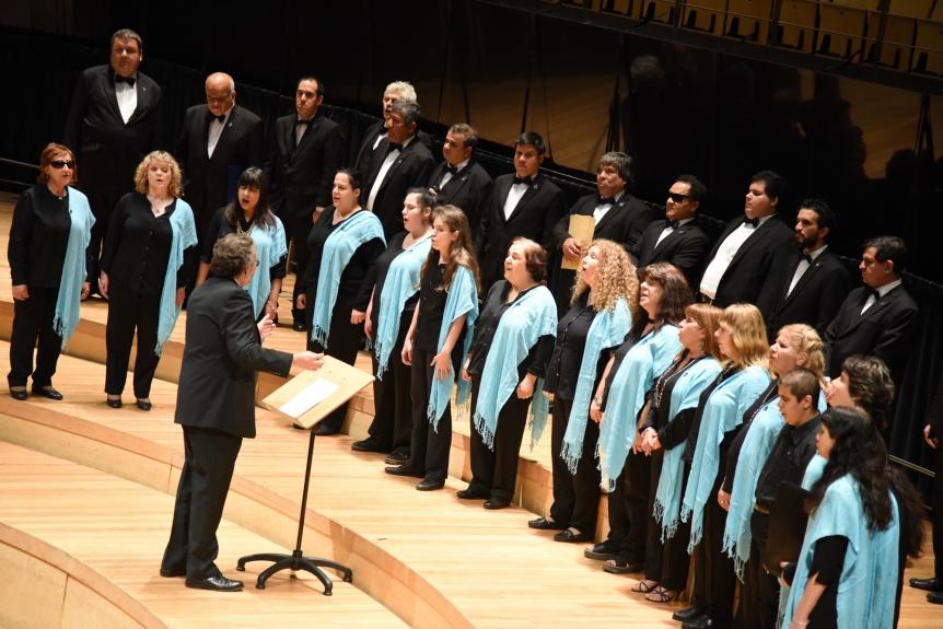 El Coro Polifónico Nacional de Ciegos llega a la Casa de la Cultura