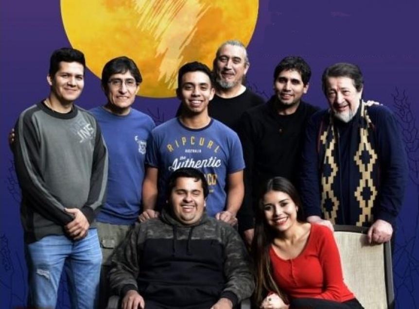 Sanampay brinda su espectáculo en el Teatro Municipal