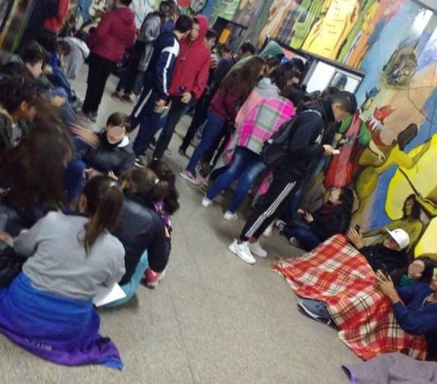 Escuelas sin calefacci�n esperan soluciones en Quilmes