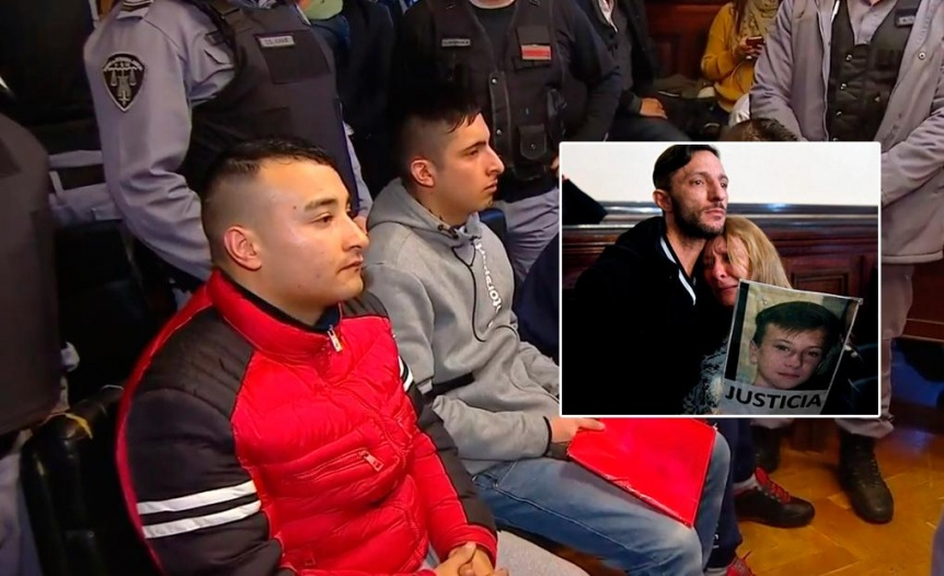 Caso Brian Aguinaco: condenaron a prisi�n perpetua a Luis G�mez, autor del crimen