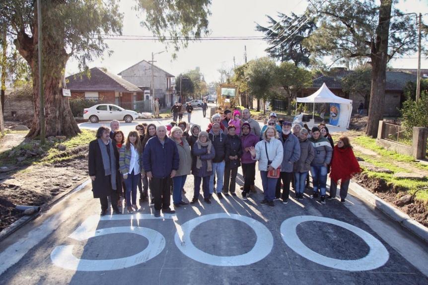 La gestión Molina alcanzó los 500 nuevos asfaltos