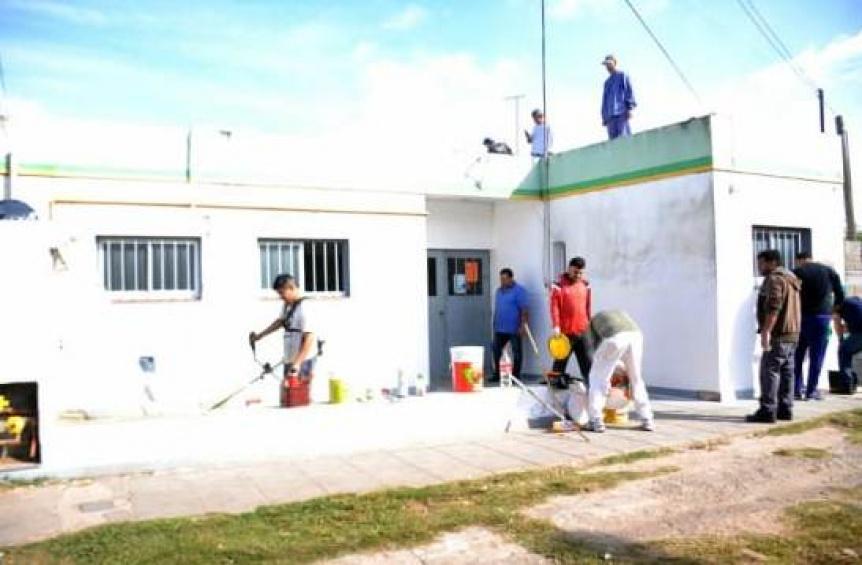 Florencio Varela: Realizan obras en centros de atenci�n primaria de la salud