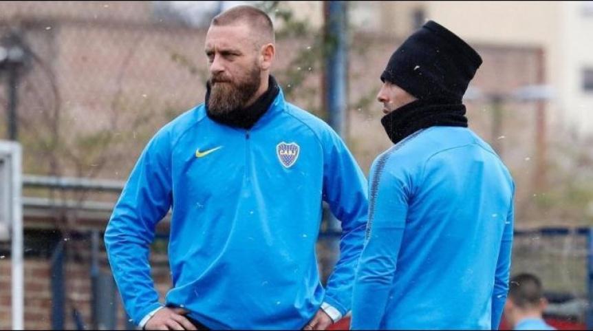 Boca enfrenta a Almagro con el debut del italiano Daniele De Rossi